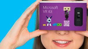 Microsoft también quiere competir en la realidad virtual móvil con su propio visor 'casero'