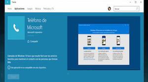 Windows 10 podría permitir realizar llamadas y enviar sms