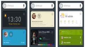 Sherpa Next, el asistente español, llega a iPhone para ayudar a Siri