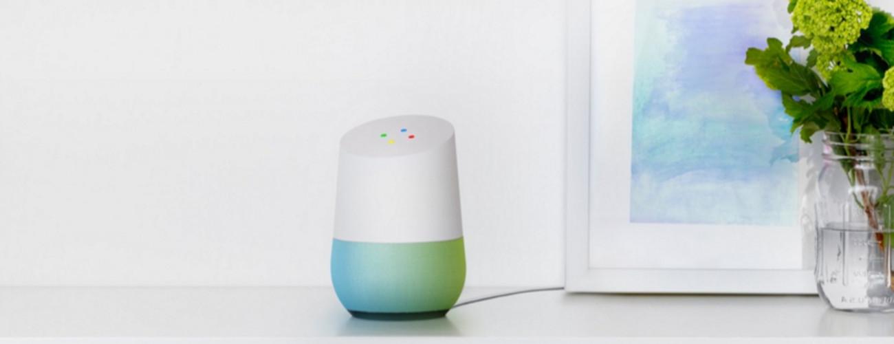 Google Home es la manera de introducir Google en casa