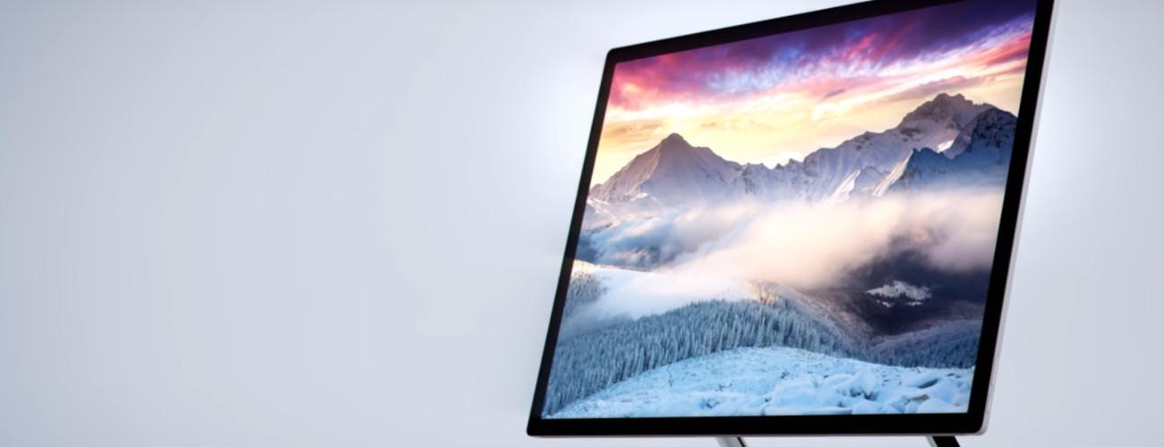 Surface Studio es el nuevo ordenador de Microsoft para competir con iMac de Apple