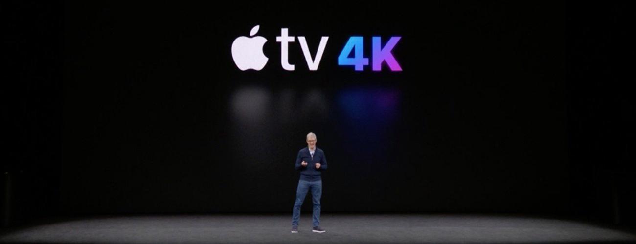 Llega el 4K y el HDR a Apple TV