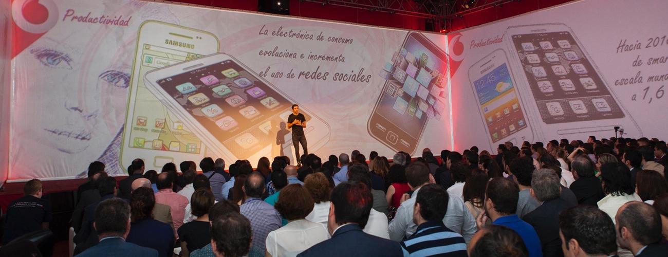 Vodafone presenta sus programas para PYMEs en el IFEMA