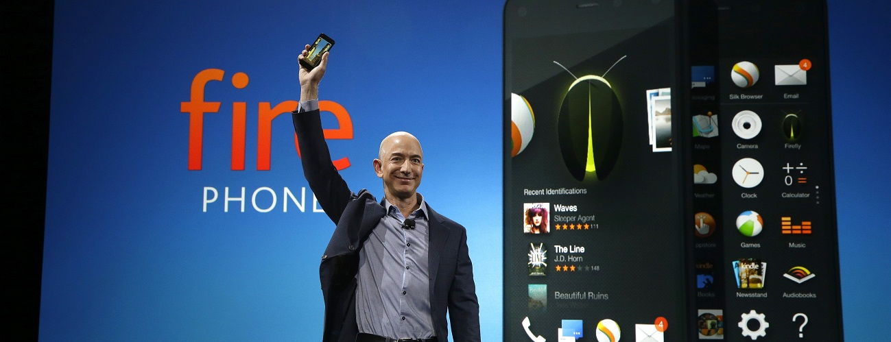 Fire Phone, el buque insignia de Amazon
