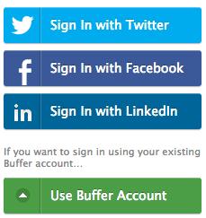 Programa tus publicaciones en redes sociales con Buffer