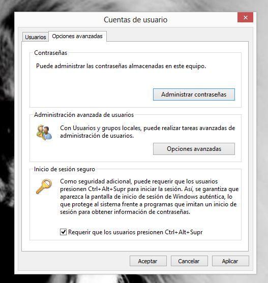 Cómo quitar el bloqueo automático Windows 8