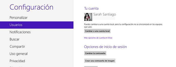 Cómo iniciar sesión en Windows 8 con una contraseña de imagen