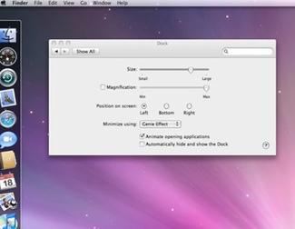 Cómo funciona el dock de Mac
