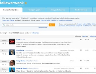 Cómo encontrar usuarios en Twitter por biografía y localización