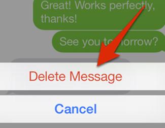 Cómo eliminar fotos y vídeos de la app Mensajes en iOS