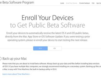 Cómo probar todas las betas de macOS