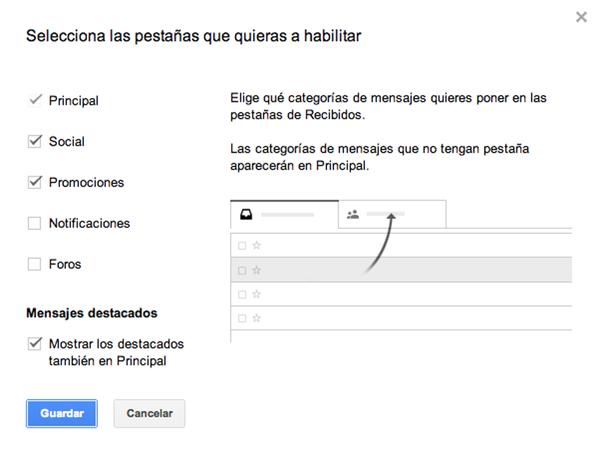 Cómo cambiar la interfaz al nuevo Gmail