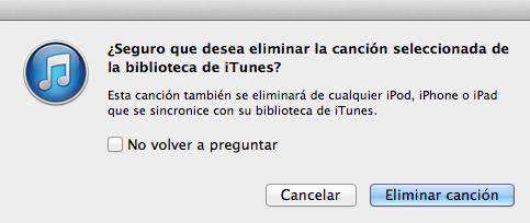 Cómo eliminar canciones repetidas en iTunes 11