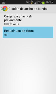 Como reducir el consumo de datos móviles en tu smartphone