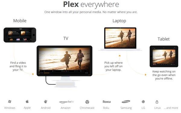 Crear nuestro servidor multimedia con Plex TV
