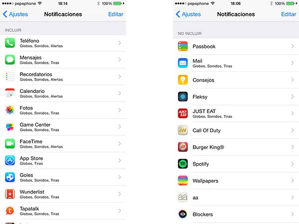 Notificaciones en iOS