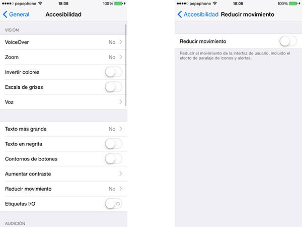 Configuración correo en iOS
