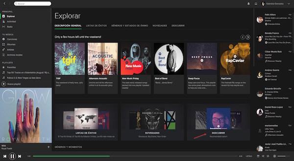 Spotify nos da muchas facilidades para compartir nuestras canciones y listas