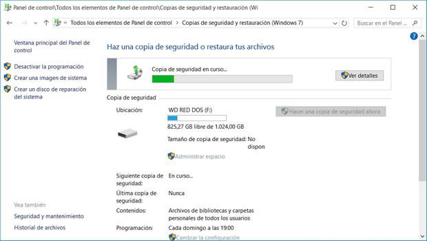 Protege tus datos en Windows 10