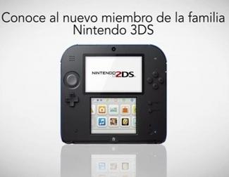 Nintendo anuncia Nintendo 2DS