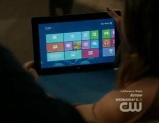 Microsoft Surface, anunciada en la serie '90210'