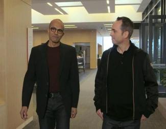 Primera entrevista a Satya Nadella como CEO de Microsoft