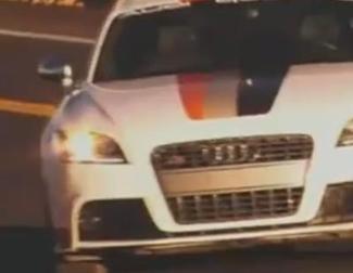 El Audi TTS sube un puerto sin piloto ni copiloto