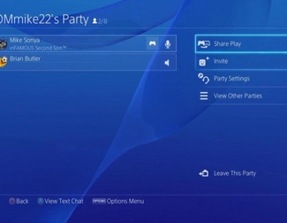 Demostración Share Play de PlayStation 4