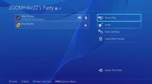 Demostración Share Play de PlayStation 4