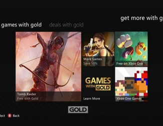 Acceso a los Games With Gold de Xbox One desde Xbox 360