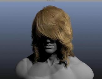Demo técnica de NVIDIA HairWork 1.1