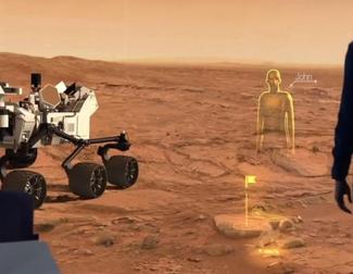 Vídeo Destination Mars en Microsoft HoloLens