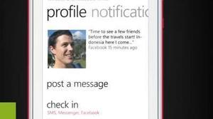 Nokia Lumia 710: Social