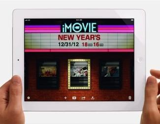 Anuncio del iPad durante los Oscar 2013