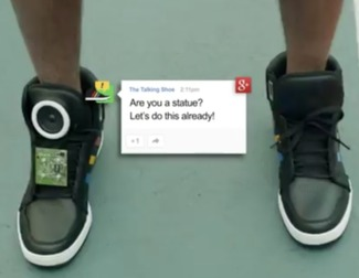 Google anuncia sus smart sneakers capaces de comunicarse