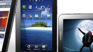 Anuncio del Samsung Galaxy Tab